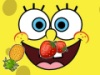 Joue  Bob l\'ponge taille les fruits