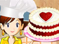 Jugar a Tarta terciopelo rojo: Cocina con Sara