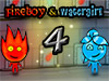 Jogar Fireboy e Watergirl 4: Templo de Cristal