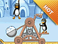 Joue à Crazy Penguin Catapult