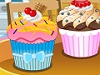 Decorate cupcakes|