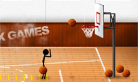 Stix Basketball Game : Basketball season's here, so get shooting...with stickman!
