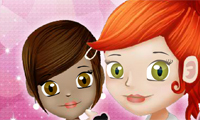 Cindy the Hairstylist 2 Game : Cindy the bold stylist is back, acid and abridgement her way to adorable hair!