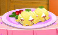 Game Sara's Cooking Class: Eggs Benedict
