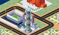 Modern City Game : Calling all urban planners: the town of your dreams is at your fingertips!