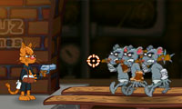 Zombies Mice Annihilation Game : It's not a archetypal cat-and-mouse tale...