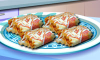 Game Sara's Cooking Class: Lasagna Roll-Ups