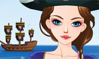 Game Pretty Pirate Perfect Dress Up