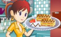 Play Sara's Cooking Class: Napoleon Pastries Games