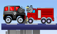 Vehicles Game : It's time for some defensive driving—the dark vehicles are invading!